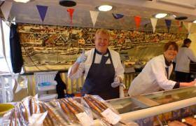 Superlekkere haring voor een euro bij Paul Moormann viskar Lekkers