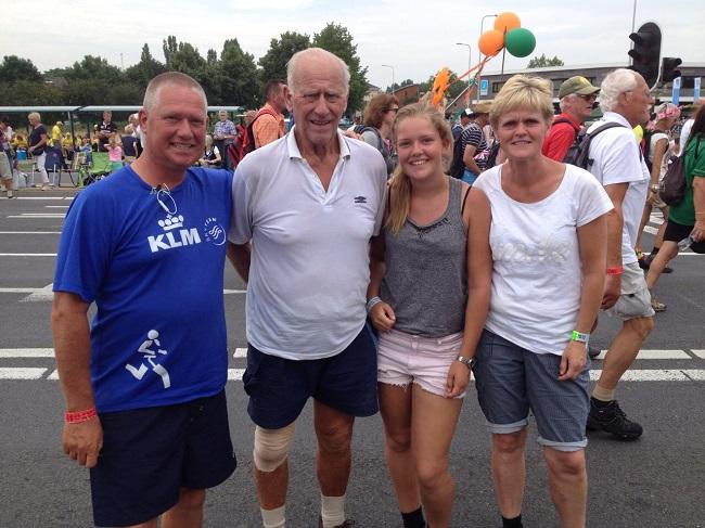 Een deel van de familie Van 't Hoff.