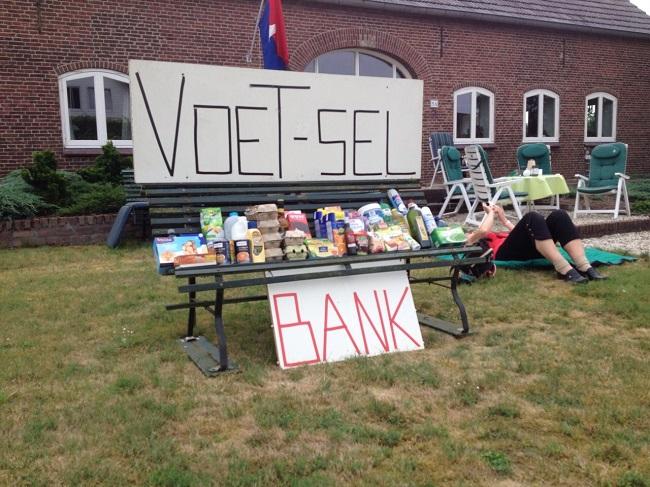 En hier was de VoeT-selbank.